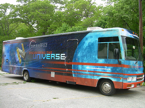 Traveling Classroom: Discovering the Universe