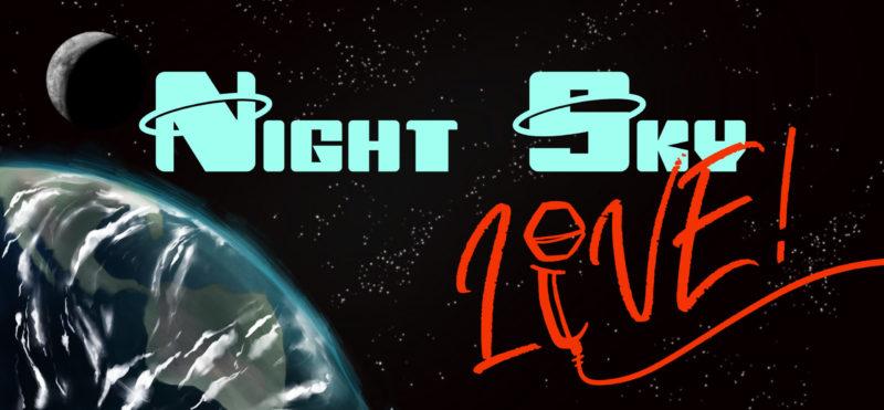 Night Sky Live Poster